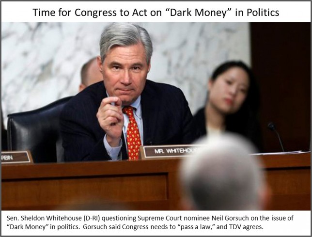 Congress and Dark Money