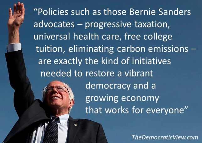 Bernie Sanders Progressive Movement